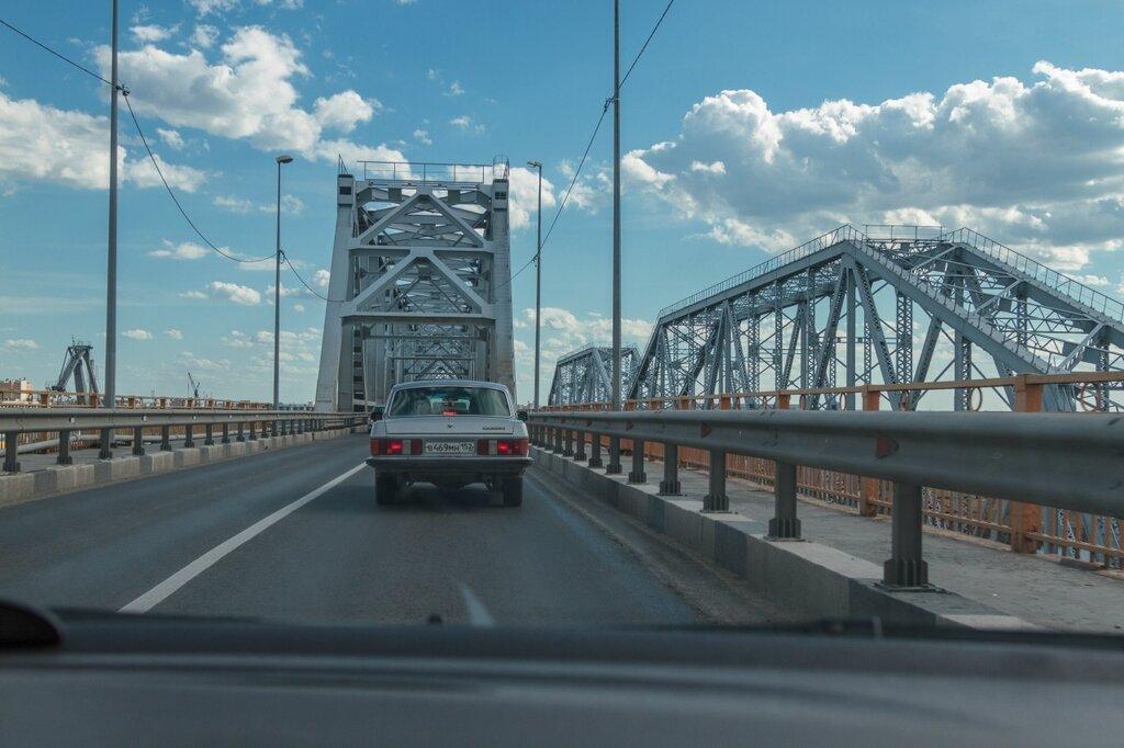 Мост через Волгу, Нижний Новгород