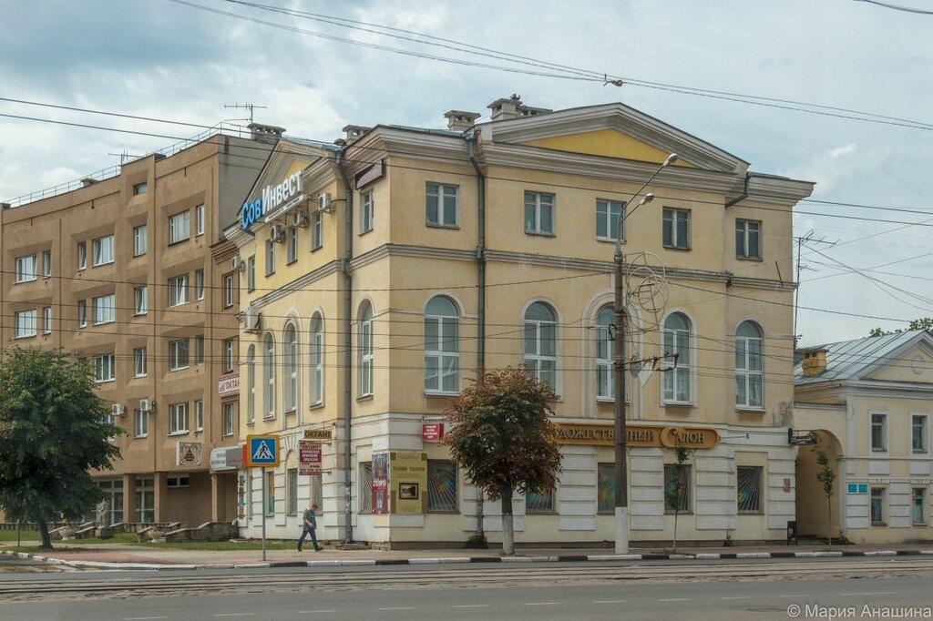 Площадь Пушкина, Советская улица, Тверь