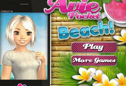 Игра Avie (Эйви) Прогулка на Пляж