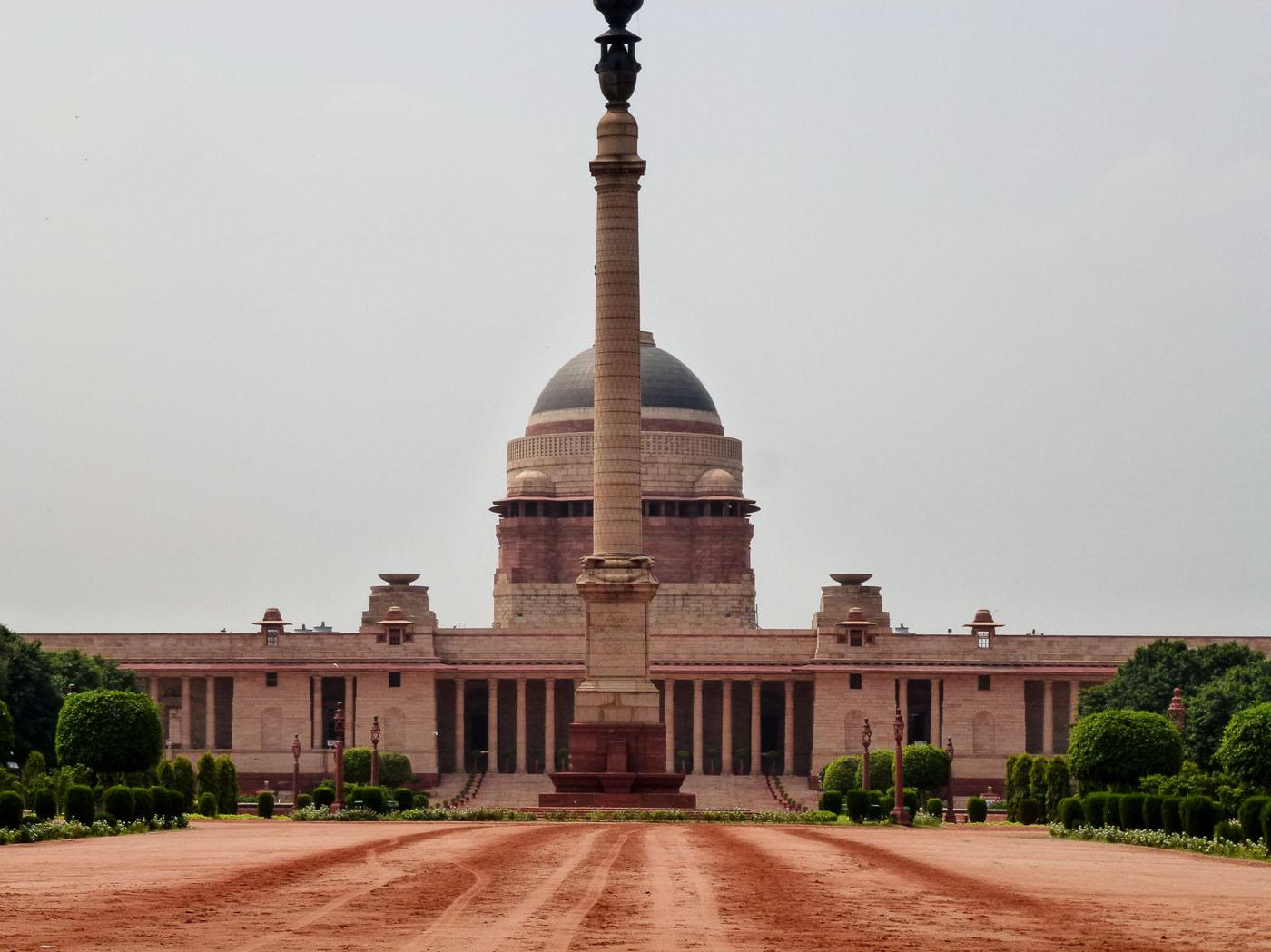 Фотография 4. Туры в Индию. Экскурсии в Дели. Дворец президента