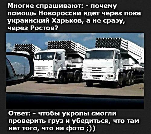 Войдет ли белая автоколонна в Украину?