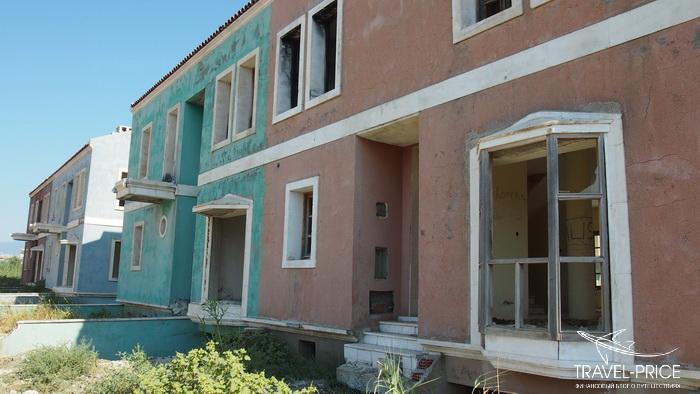 заброшенные дома Турция