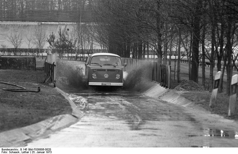 Wolfsburg, VW Autowerk, Teststrecke