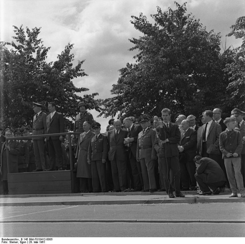 Lьbeck, Jubilдum BGS, BMI Schrцder, Parade
