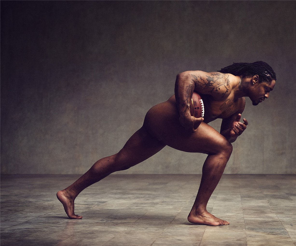 ESPN Magazine Body Issue 2014 - Marshawn Lynch / Маршон Линч