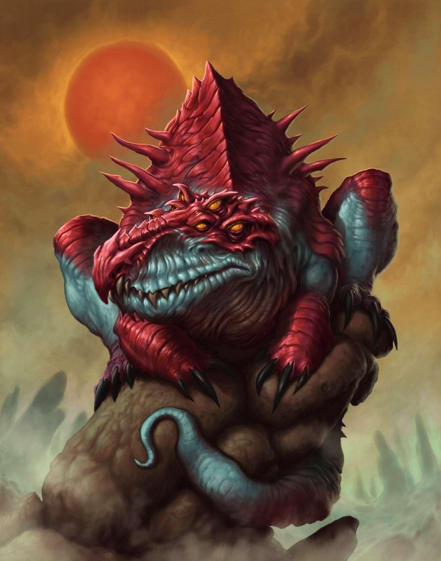 Ядовитый ящер - Dave Allsop