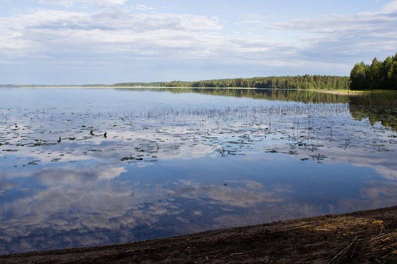 озеро Вендюрское и деревня Вендеры