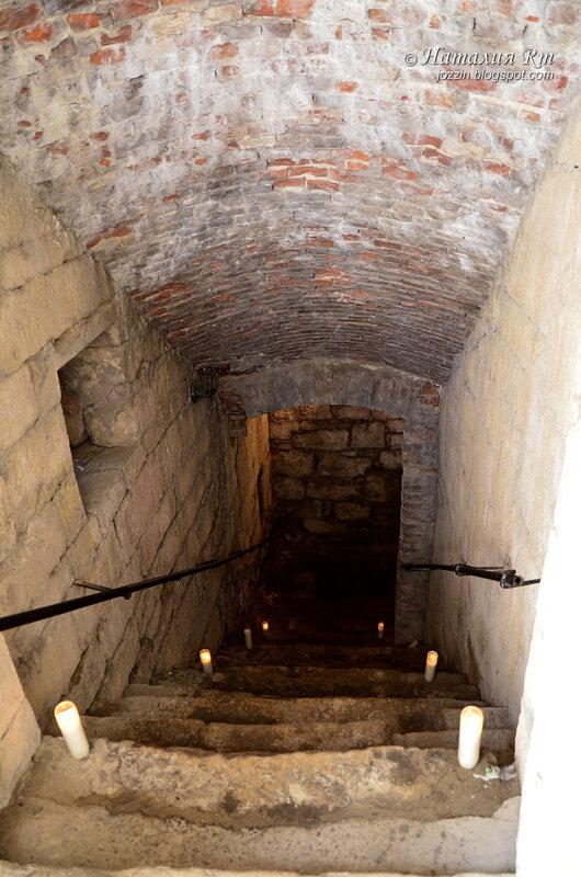 подземелье подгорецкого замка