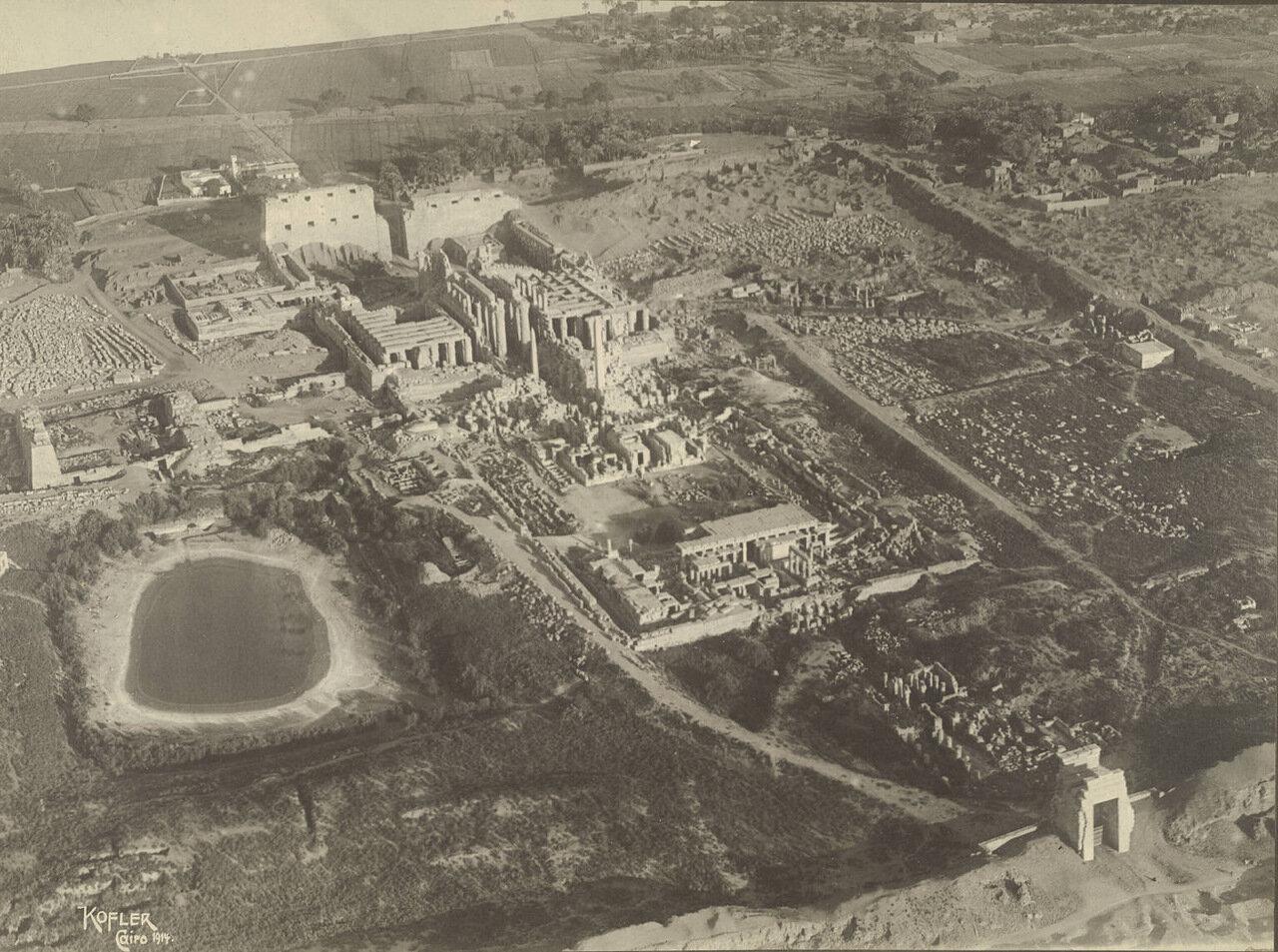Храмовый комплекс в Карнаке. 1914