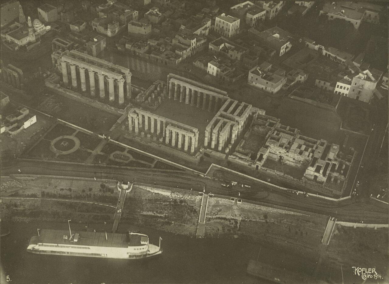 Храмовый комплекс в Луксоре. 1914