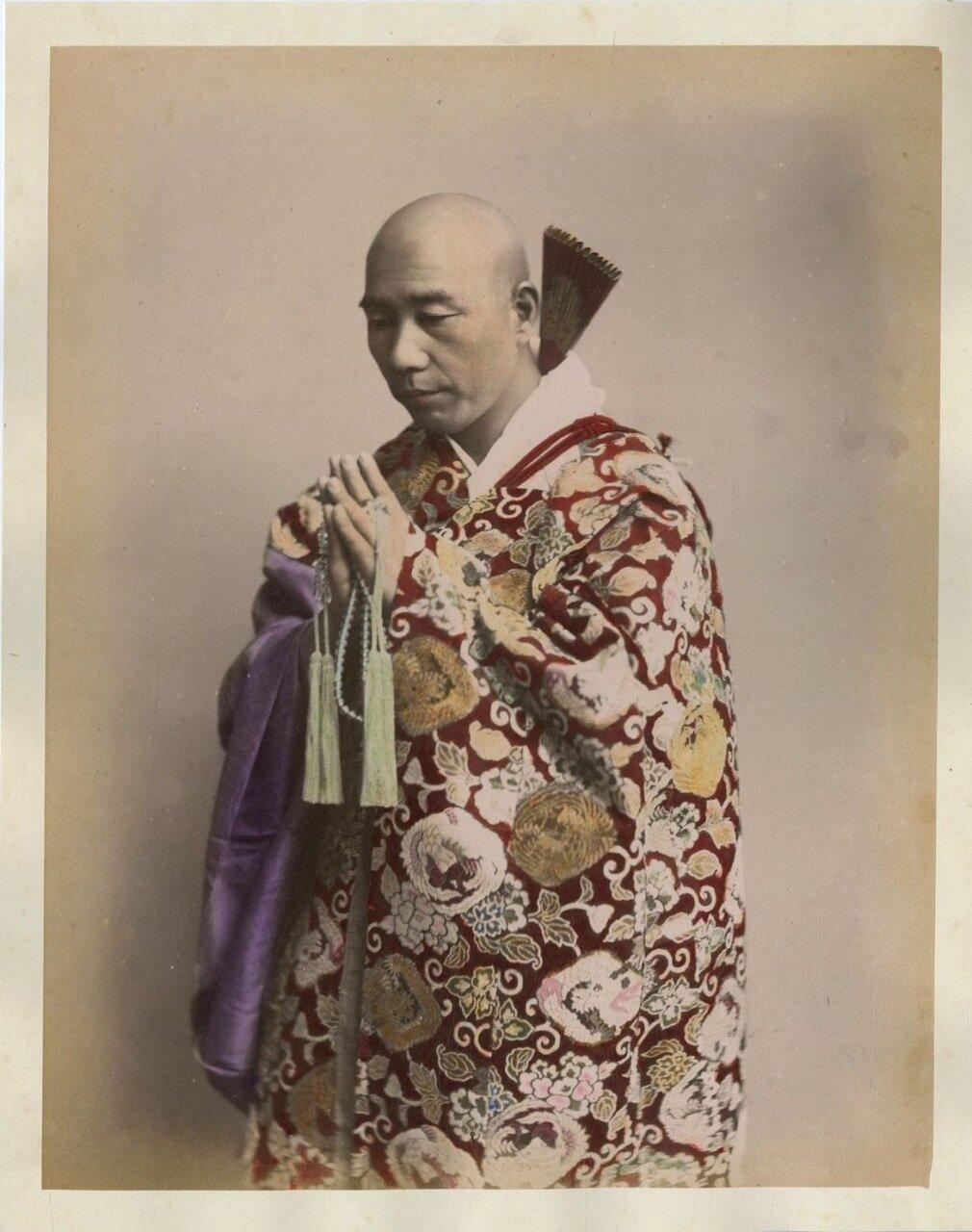 Будистский монах