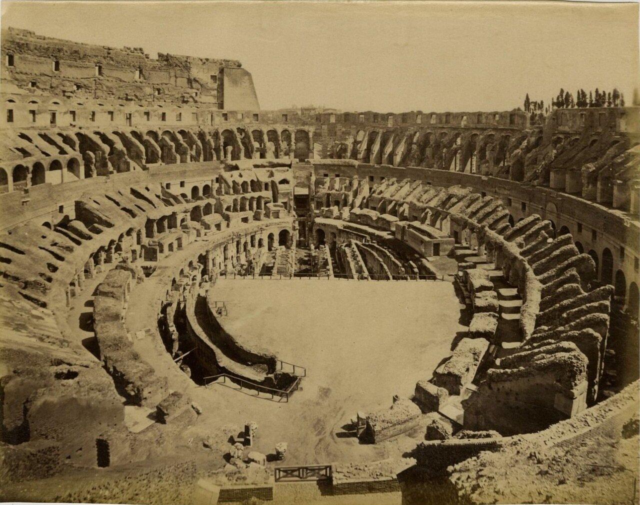 Колизей. После новых раскопок.  1875