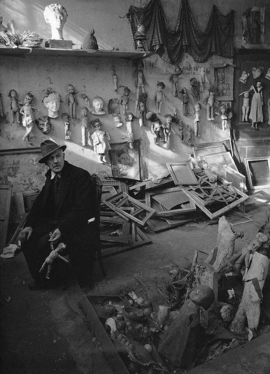 1950. Анри Хераут, художник и коллекционер кукол