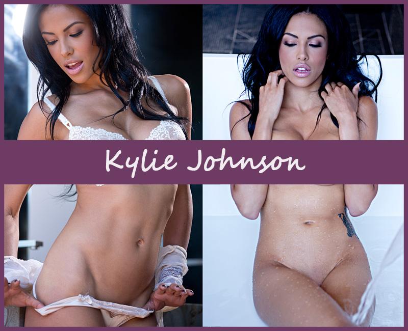 Американская модель Kylie Johnson