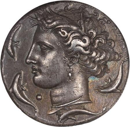 SICILY. Syracuse. Time of Dionysius I (405-367 BC). AR decadrachm0.jpg