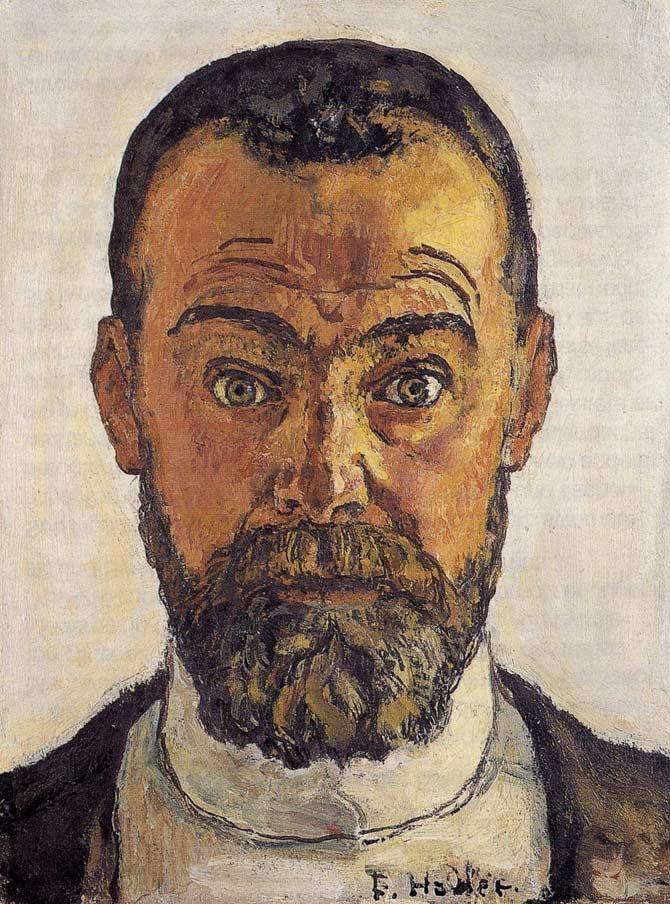 Автопортрет, 1912, Ходлер, Фердинанд (1853-1918)