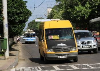 В Кишиневе поменяются направления маршрутных такси