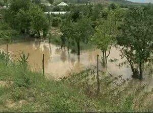 Ливни принесли потопы и разрушения на север Молдовы