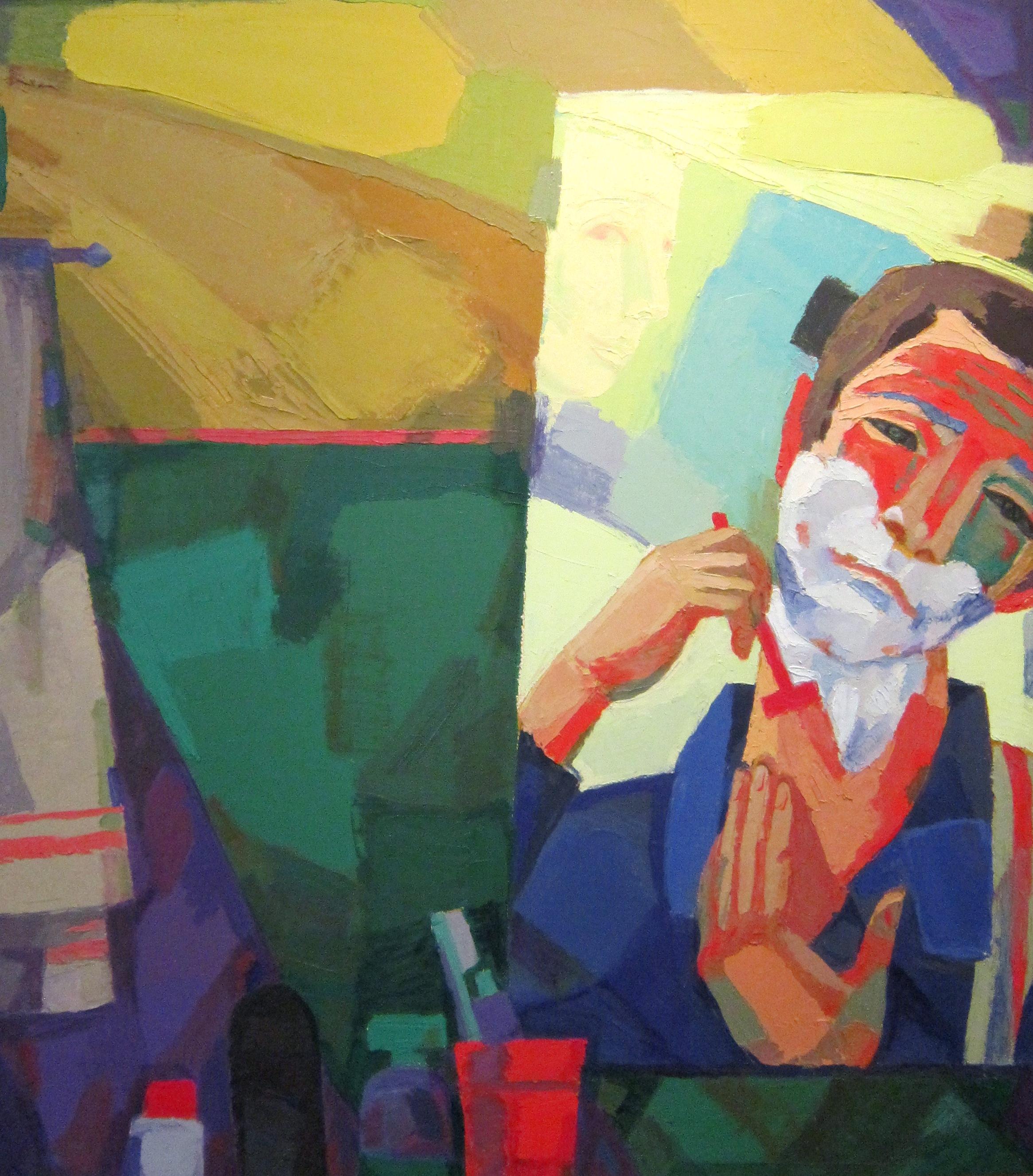 Игорь Викторович Шепель (род. в 1961 году). Автопортрет. 2007 год.