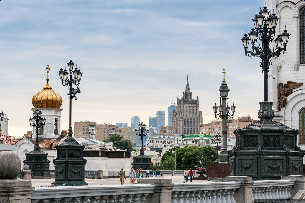Вся Москва в одном кадре…