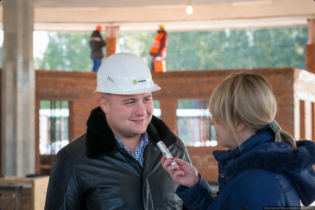 Заместитель главного инженера компании-генподрядчика «Элером» Федор Александрович Геращенко рассказал много интересного о ходе реконструкции