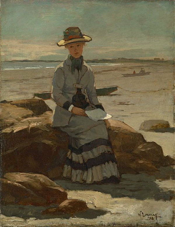 Young Lady on the Beach, 1878.jpg