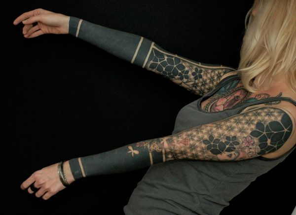 Классные татуировки на плечах и предплечьях рук 0 10ff6a 1610ec43 orig