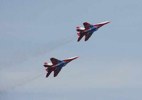 Пара МиГ-29 / Челябинск