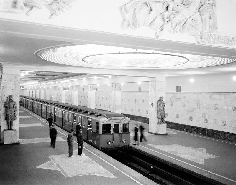 Железная дорога на фото Семёна Фридлянда.