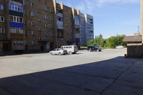 Фото города Инта №7055  Куратова 50, 54 и двор Куратова 52 13.08.2014_11:37
