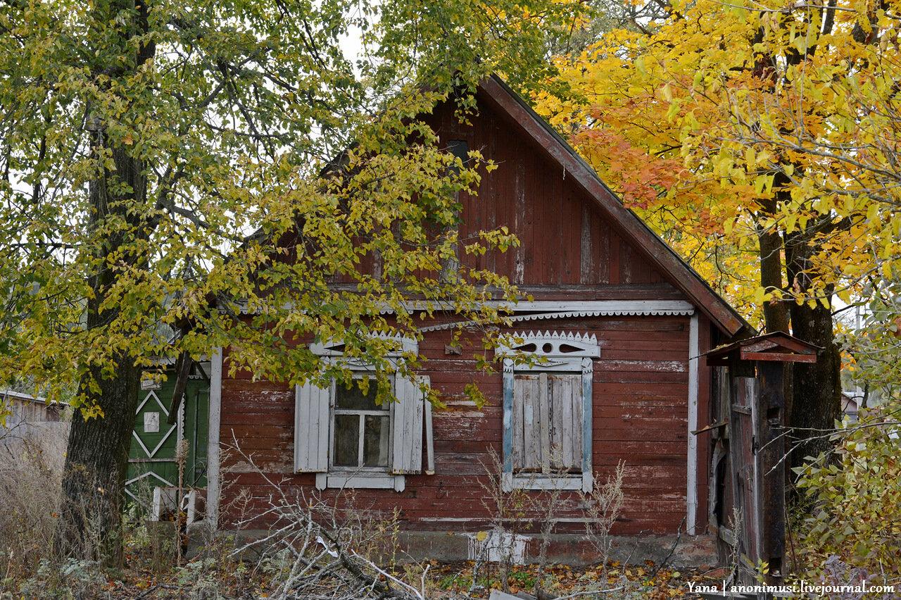 Осень в белорусской деревне