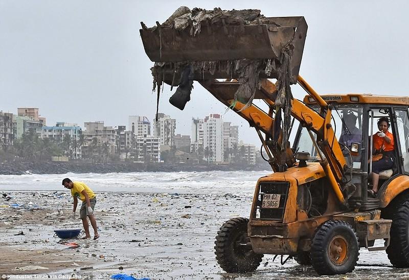 «Чемпион Земли»: как обычный человек очистил пляж от 5000 тонн мусора