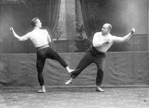 Групповое акробатическое упражнение