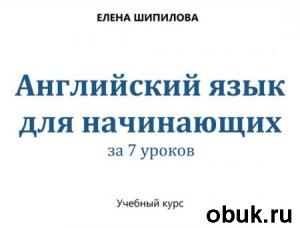 Елена Шипилова. Английский язык за 7 уроков