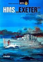 """ModelCard №78. HMS """"Exeter"""""""