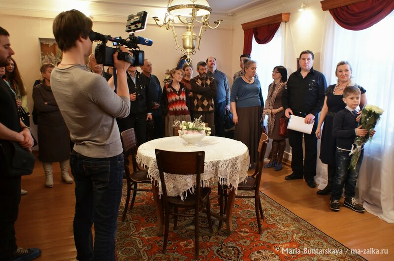 Фантазии в миниатюре, дом Павла Кузнецова, 10 марта 2015 года