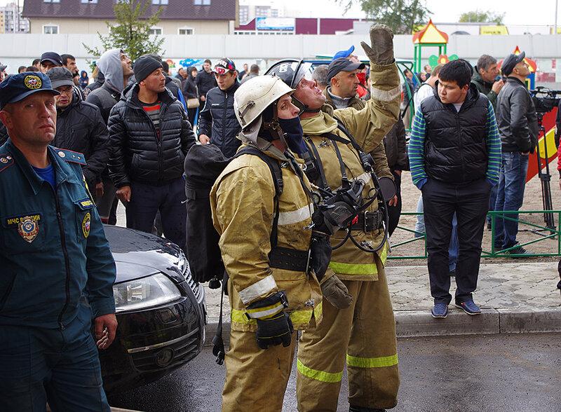 Современные пожарные
