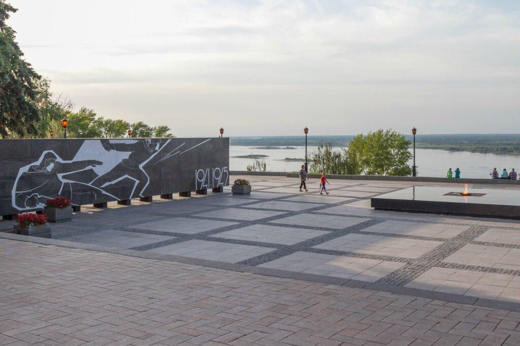 Мемориал погибшим в Великой Отечественной войне 1941-1945, Нижегородский кремль