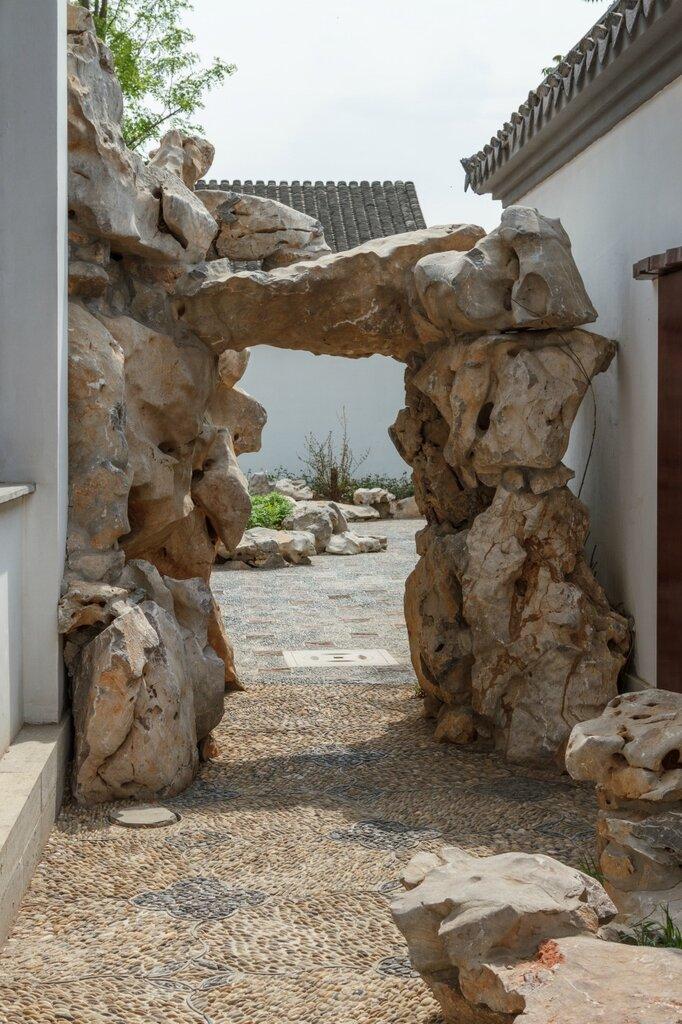 Каменная арка, парк-выставка садов, Пекин