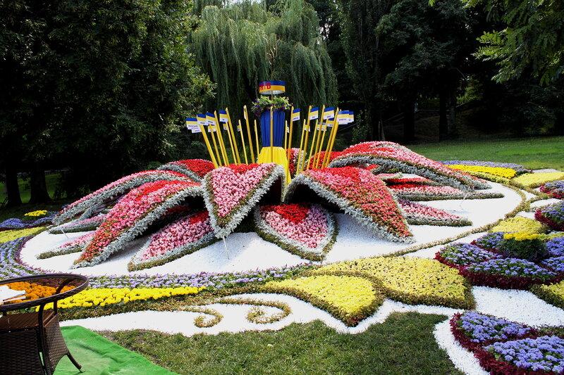 Украина - цветок единства всех регионов страны