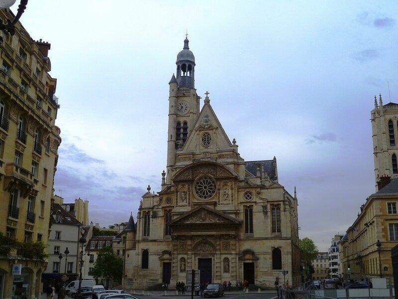 Париж, Сент-Этьен-дю-Мон ( Paris Saint-Etienne-du-Mont)