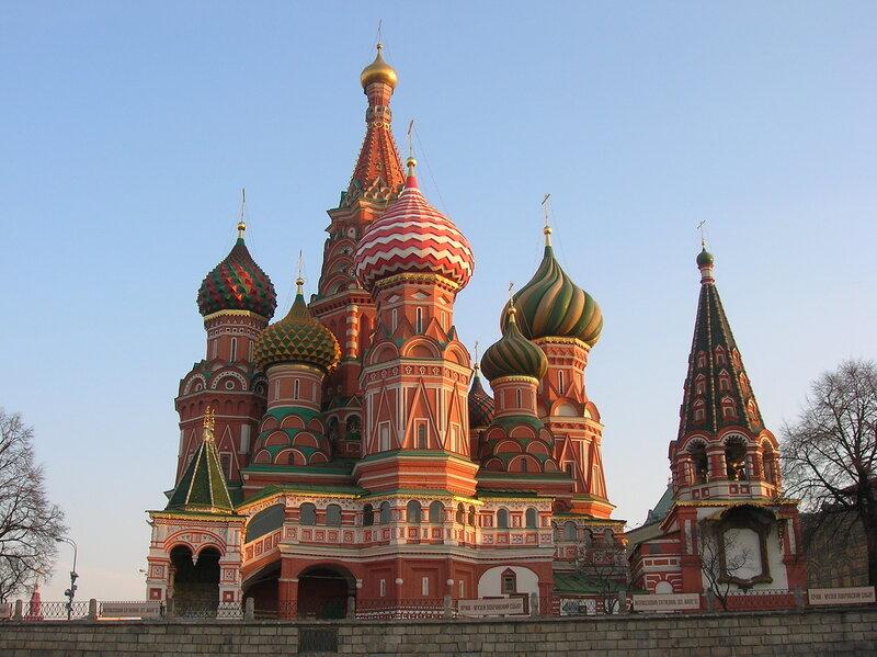 Храм Василия Блаженного - Москва, Россия (St. Basil's Cathedral - Moscow, Russia)
