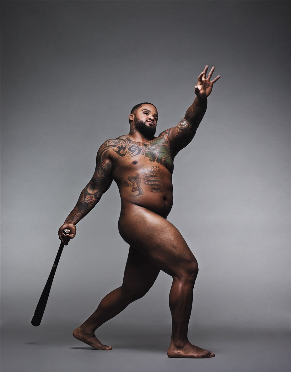 ESPN Magazine Body Issue 2014 - Prince Fielder / Принс Филдер