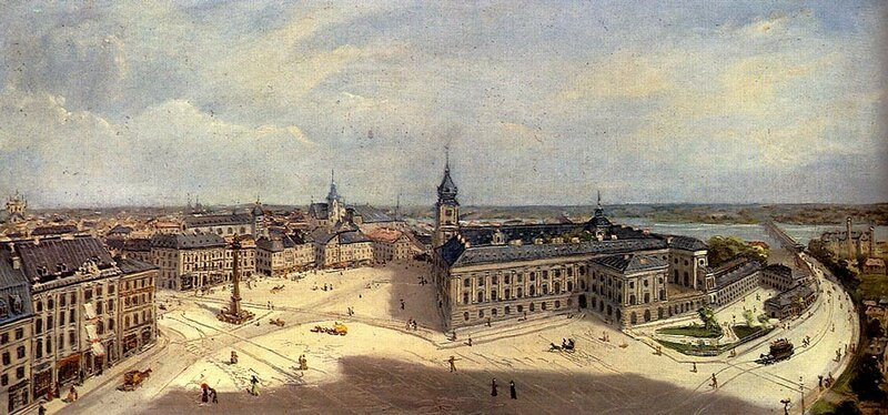 Jankowski Cheslas Bois, Views Of Warsaw