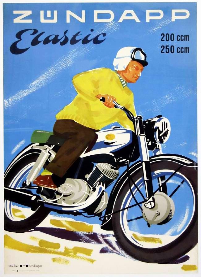 Zundapp - Германия (1954 год)