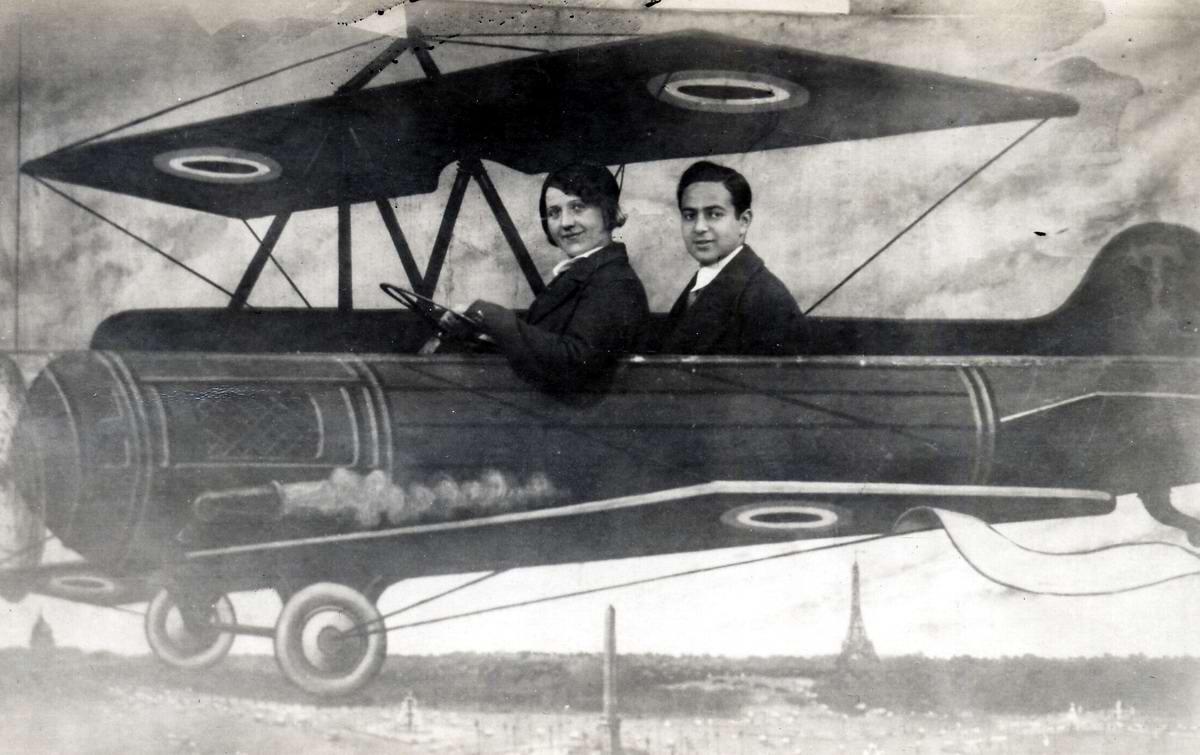 Художественные фоны для фотографий авиационной и воздухоплавательной тематики (22)