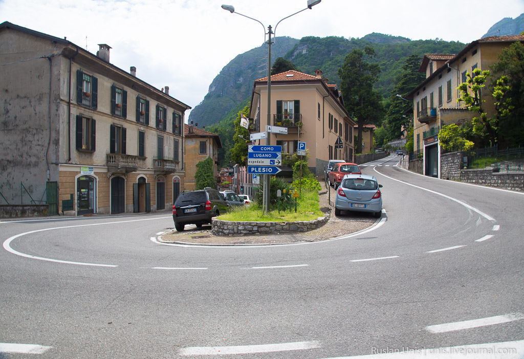 Автомобильное путешествие по Италии