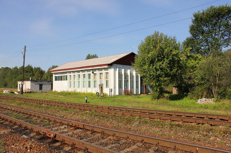 Здание ДСП на станции Лямцево