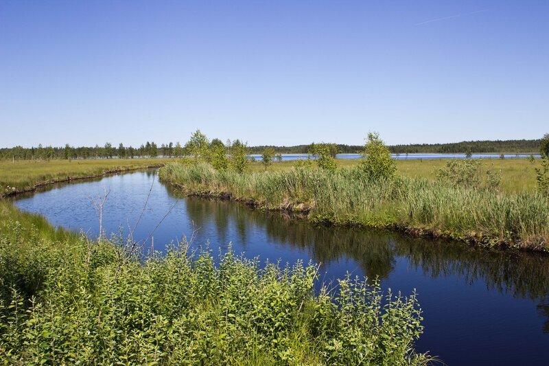 протока между озерами Черанга и Мюрюс