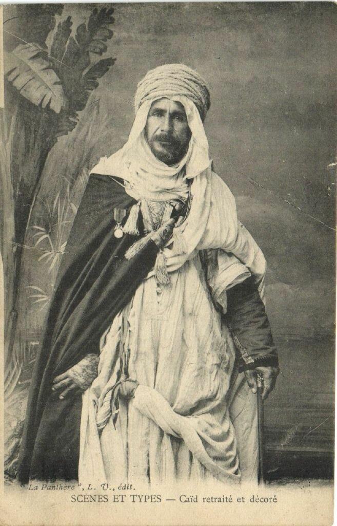 1900-е. Араб с медалью.